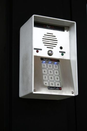 Secure Storage w/ Electronic coded gate access