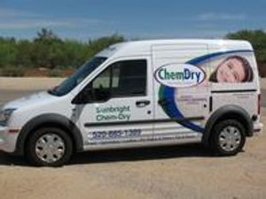 Another Picture of our Chem-Dry van