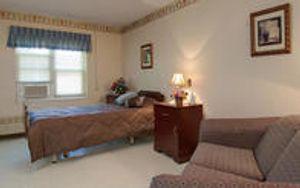 Willowdale Village single room.