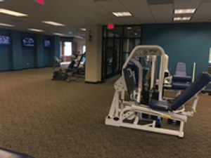 Gillette Physical Therapy clinical rehab space located in Gillette, Wyoming.