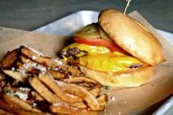 Don't miss out on our burgers, sandwiches and house cut fries that pair well with our selection of beers and cocktails.