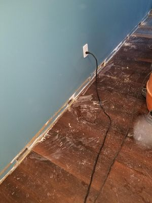 SERVPRO of Brickell is getting this water damaged home restored!