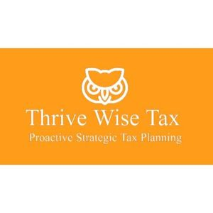 Thrive Wise Tax Logo