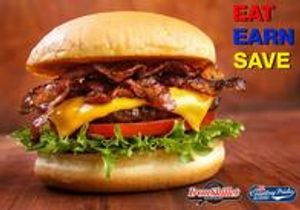 Restaurant Savings - Dine 6 times and get the 7th entree for free