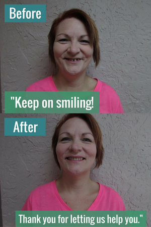 Keep on smiling! Thank you for letting us help you!