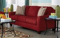 Sofa, accent chair and loveseat rental.