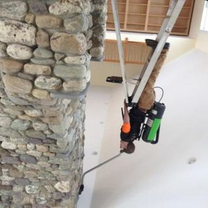 Deep residential cleaning using our hepa vacuums.