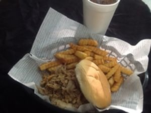 Our Friday Lunch Special: Pulled Pork!