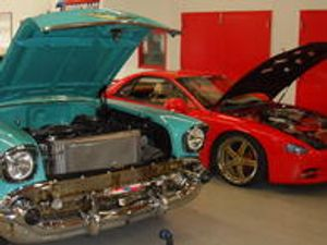 We work on foreign and domestic cars and trucks.
