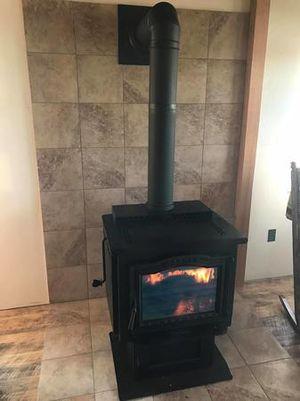 Wood burning stove!