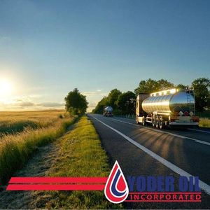 Oil Trucks transporting fuel through the Midwest