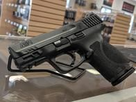 """The new M&P Compact, 3.6"""" barrel. Same 15 round capacity. Here just in time for summer carry."""