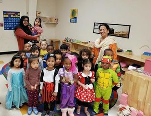 Halloween Party at Teeter Toddler!