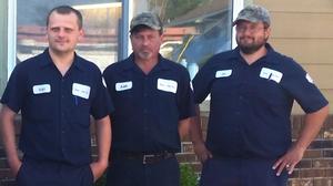 Den-Son Crew three crewmembers