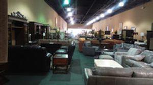 Huge furniture showroom