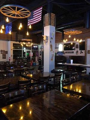 We offer Happy Hour from 3 to 7 p.m. every day. We also provide frequent lunch specials!