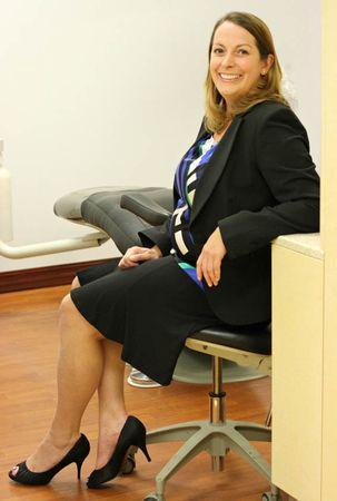 Our dentist, Dr. Lori Logsdon, DDS