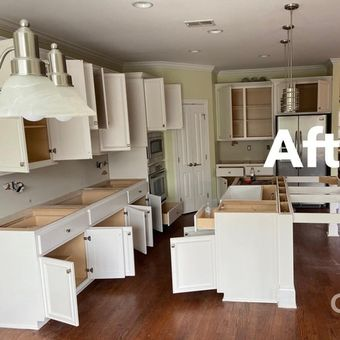 Taylor's Painting Company can transform your kitchen - after
