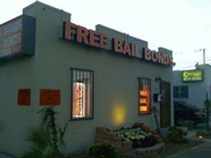 Free Bail Bonds Entrance
