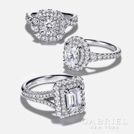 best selection of designer and custom engagement rings