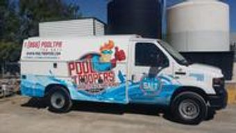 Pool Troopers Service Truck