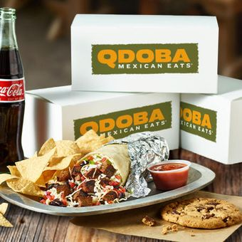 Boxed lunches are individually packaged for easy distribution and include all of your favorites like a burrito, chips and salsa and a sweet treat.