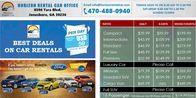 Rental Car Agency Jonesboro GA