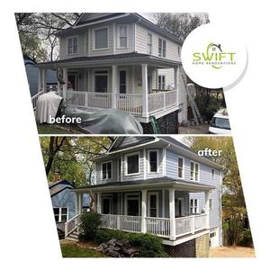 The top local choice in Kennesaw and surrounding areas for home remodeling projects including kitchen and bathroom remodeling, basement remodeling, interior and exterior painting, decks, porches, siding, windows, and gutters.  Call us today to get started on your project!