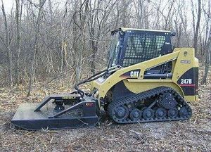 Land and Brush Clearing: Do you want to reclaim property, clear a lot, build trails, or create shooting lanes? Our rubber track skidsteer is up to the task, no matter the terrain. We have the attachments to handle the job; brush mower, stump grinder, grapple bucket, and a wood chipper.