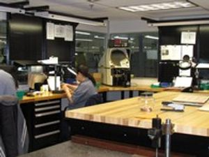 Quality control measures at Avanti ensure parts are machined to customer specifications.