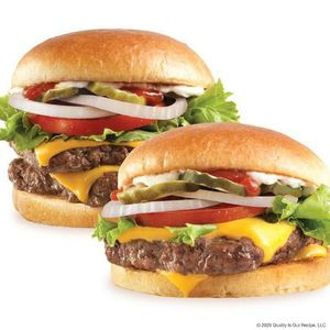 Wendy's Dave's Single® and Dave's Double® cheeseburgers
