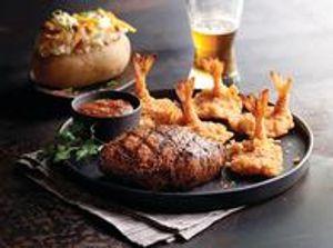 Gulf Coast Steak & Shrimp
