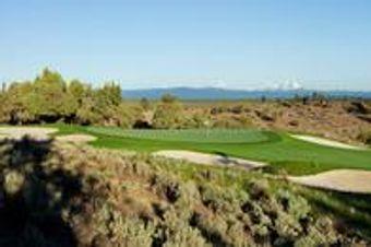 Brasada Canyons Golf Course #17 Green