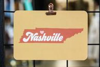 These Nashville postcards are popular in the shop now! Stop by and pick some up today!