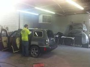 We can do all of your auto body work.