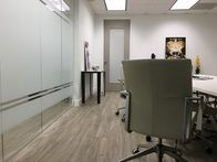 White frost for luxury offices.