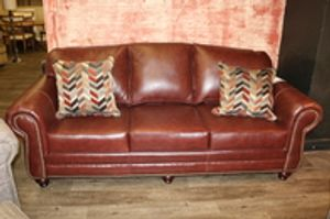 Find the leather couch of your dreams at our furniture showroom.