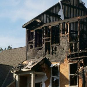 We offer fire damage clean up