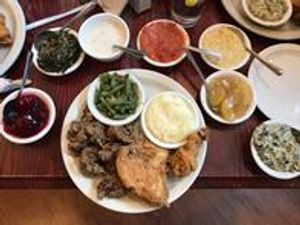 The finest in family-style dining and event catering is always the fare when you visit Claudia Sanders Dinner House.