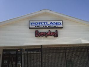 Locally owned and operated building supply.