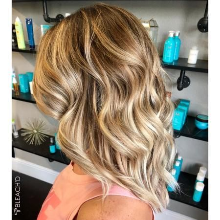 Light blonde hair coloring