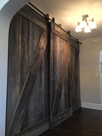 double hung custom bard doors