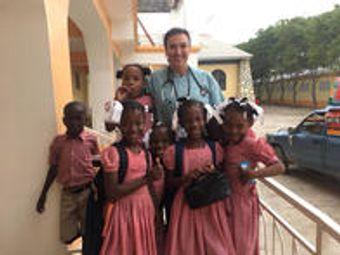 Dr. Kimberly Kraus in Haiti