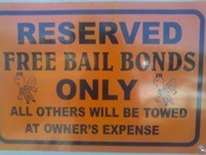 Free Bail Bonds Sign