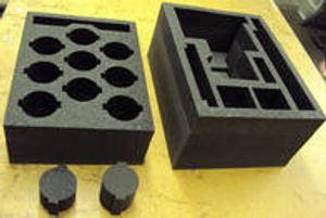 Custom cut foam packing and inserts available!