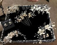 Beautiful selection of unique headpieces to choose from.
