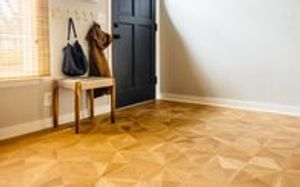 Custom hardwood floors do not have to be stuffy, old-fashioned affairs. Whether it's a classic herringbone pattern or an original midcentury design, we enjoy every opportunity to create hardwood floors perfectly suited to your home and design style.