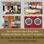 Call us for an expert repair and service on any appliance in New Braunfels or San Antonio !