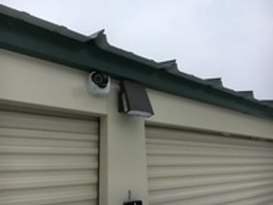 Security Lighting and Cameras Throughout Facility