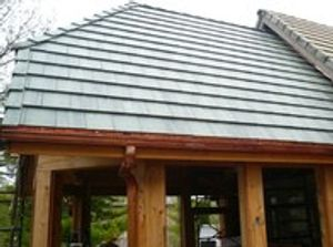 Residential Concrete Tile Roof